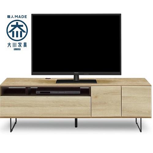 モビレックス 国産品150幅テレビボード完成品NA色古木風 モク