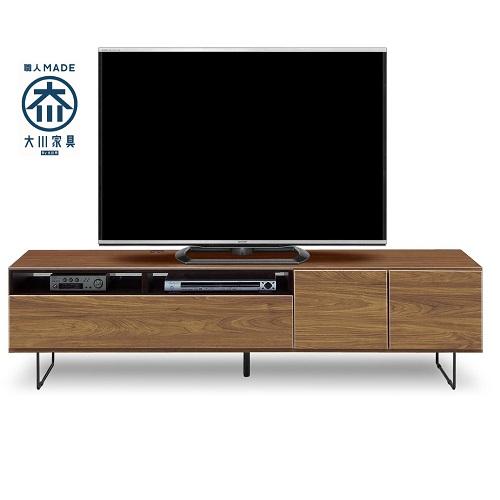 モビレックス 国産品180幅テレビボード完成品BR色古木風 モク