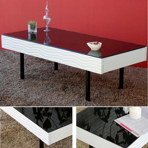 モビレックス 便利な引き出し付きセンターテーブル リビングテーブル