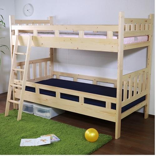 モビレックス 北欧パイン材2段ベッド