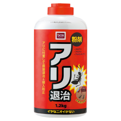 DCM アリ退治 粉剤 1.2kg