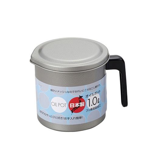 竹原 フッ素オイルポット 1.0L