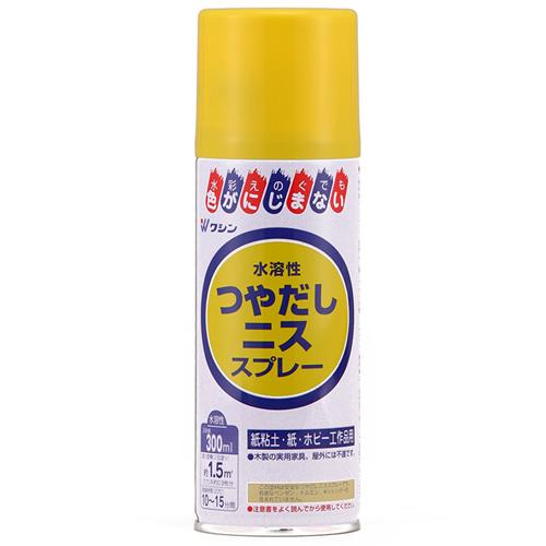 水溶性つや出しニススプレー/300ml