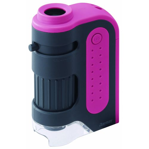 レイメイ藤井 ハンディ顕微鏡ZOOM ピンク RXT203P 1個