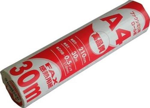 OHM FAX用感熱ロール紙A430m/OA-F30A4S