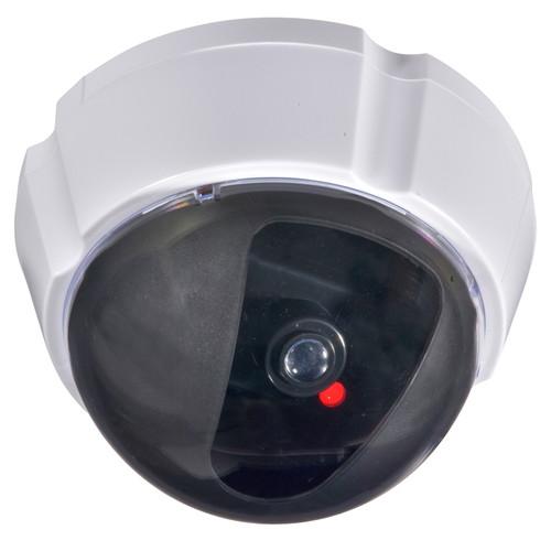 防犯 監視カメラ ホワイト 外形寸法(約):直径10.2×厚さ7cm