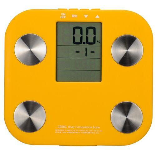 オーム電機 体重体組成計 オレンジOHM_HB-K90-D 08-0033