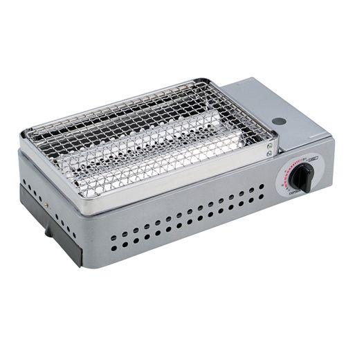 STAG) キャプテンスタッグ(CAPTAIN STAG) バーベキュー BBQ用 グリル 焚火台 炉端焼卓上カセットコンロM-6303