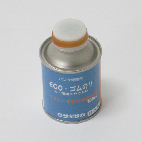 【クリックで詳細表示】㈱サギサカ【自転車部品】ECOゴムのり 缶入 100CC 31800 100cc