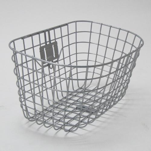 サギサカ ワイヤー前カゴ角丸型