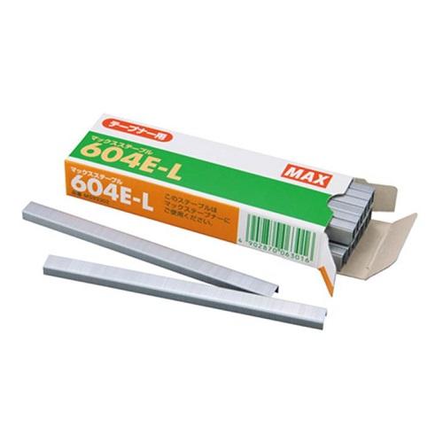 マックス MAXテープナー用ステープル 604E-L 4800本入