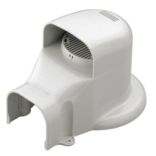 因幡電工 ウォールコーナーACキャップ 換気AC用 SWX77L-W