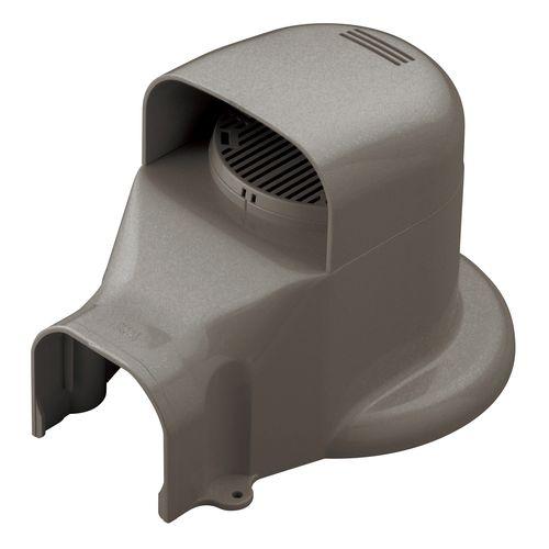 因幡電工 ウォールコーナー ACキャップ 換気エアコン用 LDWX70L-B