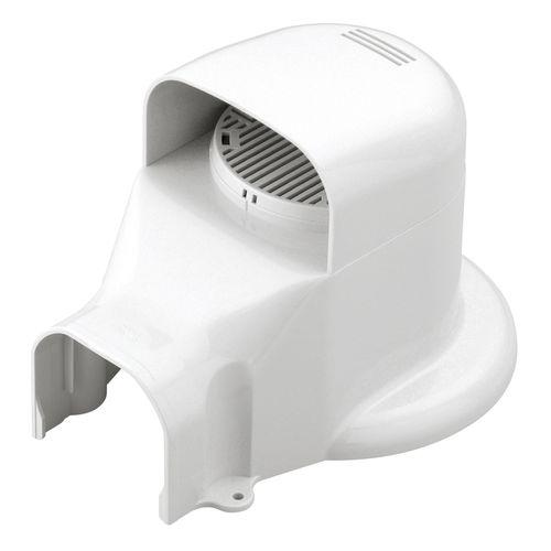 因幡電工 ウォールコーナー ACキャップ 換気エアコン用 LDWX70L-W