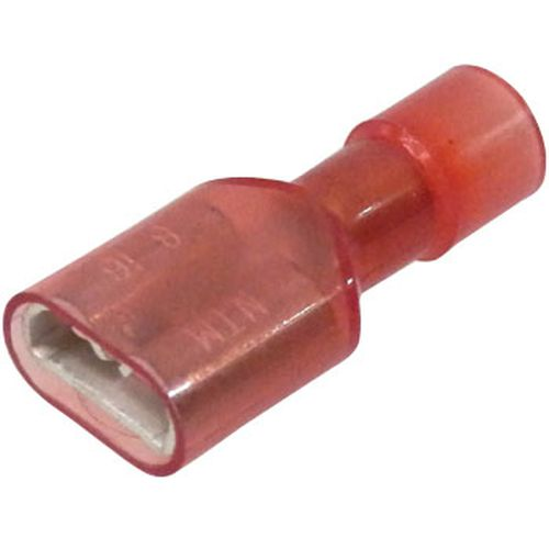 差込形接続端子 MA形 5個入/TMEDN630809MA 赤透明 撚線0.75〜1.25mm