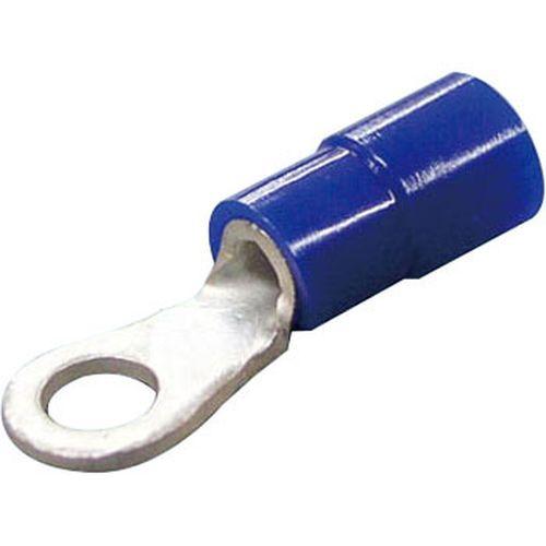 絶縁被覆付圧着端子 R形 丸形 5個入/TMEV2-6BLU5 青 φd2:6.4mm