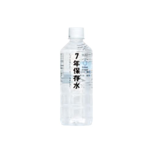 イザメシ 7年保存水 500X24