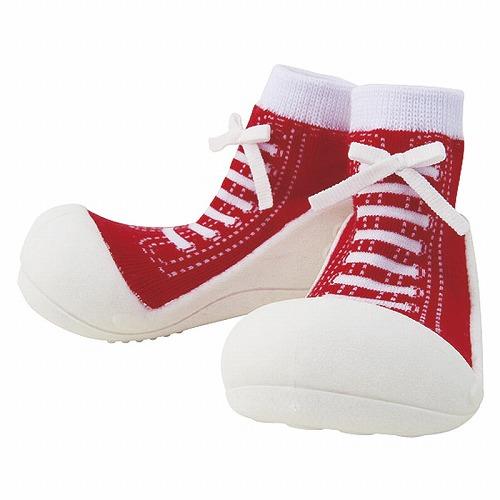 Baby feet ベビーフィート ラバー底ソックス SNEAKERS ( 11.5cm , スニーカー Red レッド )