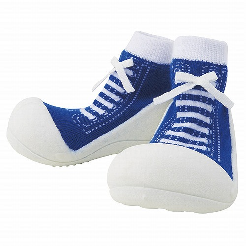 Baby feet ベビーフィート ラバー底ソックス SNEAKERS ( 11.5cm , スニーカー Blue ブルー )