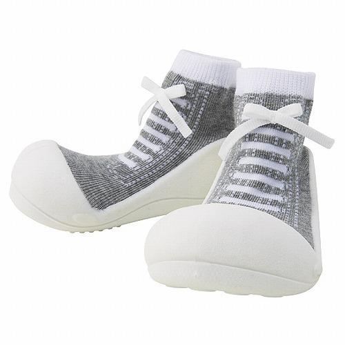 Baby feet ベビーフィート ラバー底ソックス SNEAKERS ( 11.5cm , スニーカー Gray グレー )