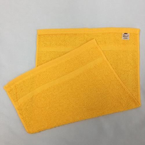 東進 日本製 業務用カラーおしぼりタオル120枚 ゴールド 120枚入り