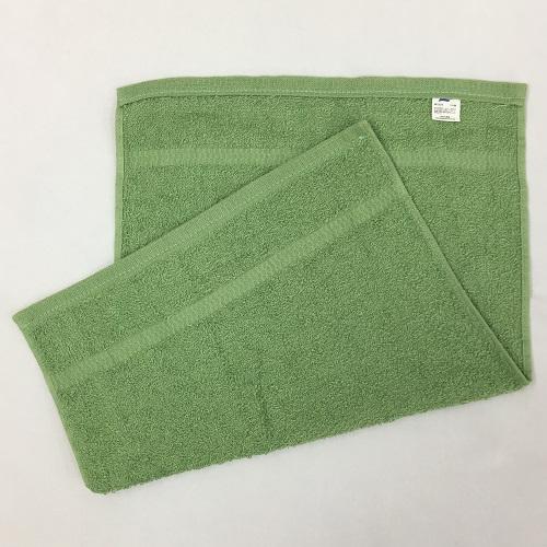 東進 日本製 業務用カラーおしぼりタオル120枚 ダルグリーン 120枚入り