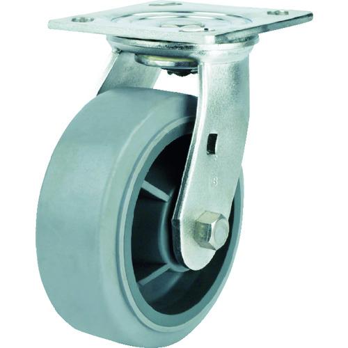SAMSONGCASTER SAMSONG ステンレスキャスター自在エラストマー100mm TP674001MIR