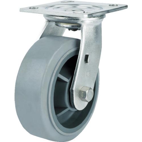 SAMSONGCASTER SAMSONG ステンレスキャスター自在エラストマー150mm TP676001MIR