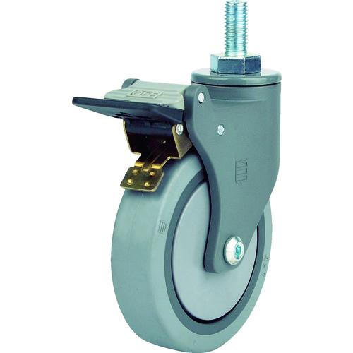 SAMSONGCASTER SAMSONG 樹脂キャスター自在SP付エラストマー100mm TP384021MIRTGSWB