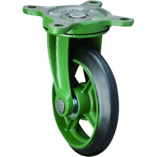 東北車輛製造所 標準型自在金具付ゴム車輪150 150BRB