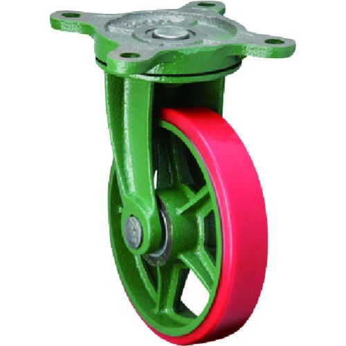 東北車輛製造所 標準型自在金具付ウレタン車輪100 100BRULB