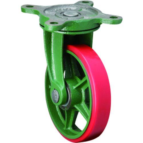 東北車輛製造所 標準型自在金具付ウレタン車輪150 150BRULB