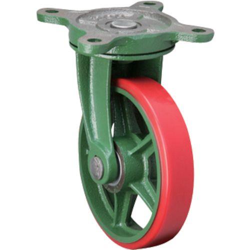 東北車輛製造所 標準型自在金具付ウレタン車輪200 200BRULB