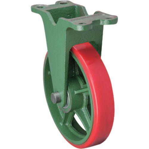 東北車輛製造所 標準型固定金具付ウレタン車輪100 100KULB