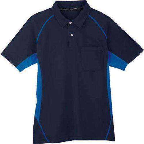 コーコス コーコス 半袖ポロシャツ 1ネイビー 3L MX7071LLL