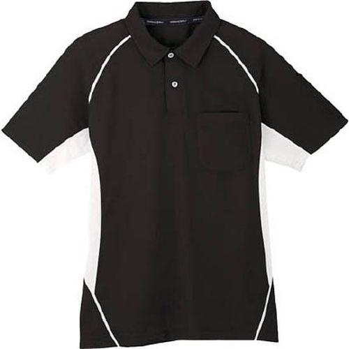 コーコス コーコス 半袖ポロシャツ 13ブラック L MX70713L