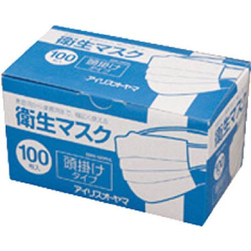 アイリスオーヤマ 衛生マスク 頭掛けタイプ EMN-100PHL 100枚入