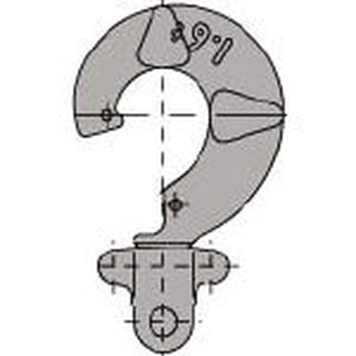 【クリックで詳細表示】キトーLB016用 L5形ウエフック組 造船用 L5BL01650011_2219
