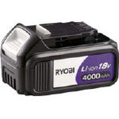【クリックで詳細表示】リョービリチウムイオン電池パック 18V 4000mAh