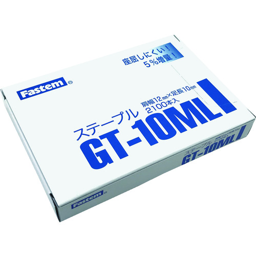 立川ピン製作所 タチカワ ガンタッカ&ハンマータッカ用ステ-プル2100本入り GT-10ML