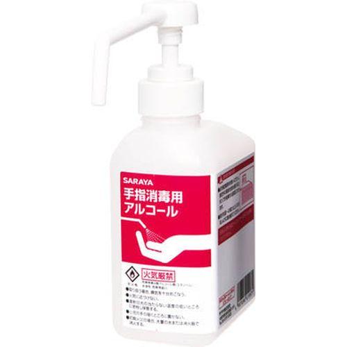 サラヤ カートリッジボトル500ml噴射ポンプ 手指消毒剤用空ボトル 1本