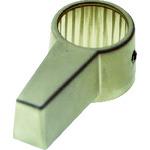トラスコ TRUSCO シリンダー錠ノブロック用ノブシャンパンゴールド CL-CA056