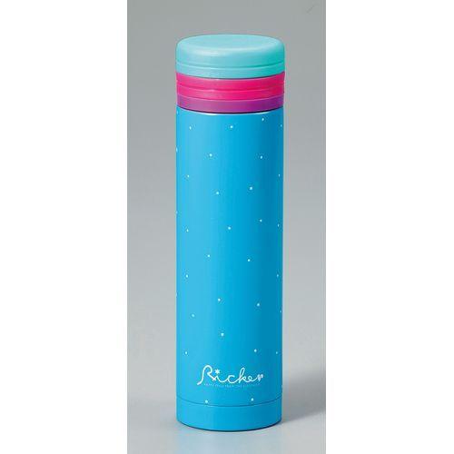【クリックで詳細表示】リッケにこにこマグボトル300mlブルー RIC-004