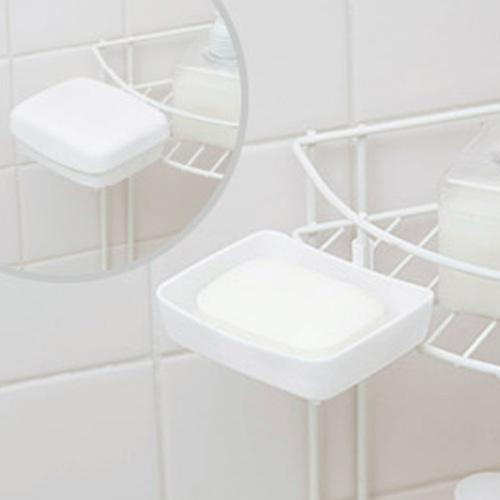 DCMブランド DCMバスラック用石鹸皿ふた付 W 18W17-07015