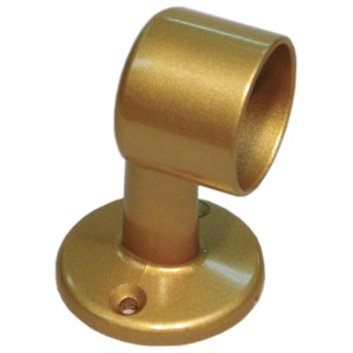 WAKI ぬくもり手すり32 受金具 32T-65直止 ゴールド [4726]