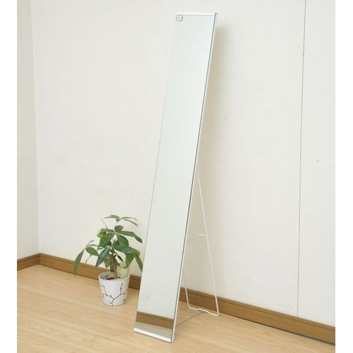 YAMAZEN(山善) スタンドミラー 幅220×奥行400×高さ1500mm ホワイト