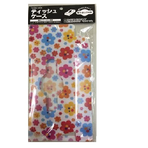ハウディ 箱なしティッシュケース花柄 HK-267